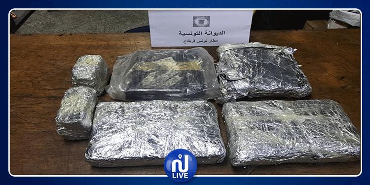 مطار قرطاج: حجز كيلوغرامات من الماريخوانا في حقيبة طالب