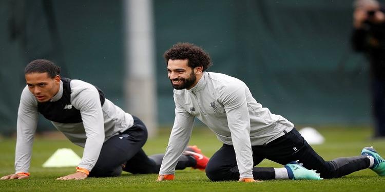 قبل مواجهة مانشستر سيتي: محمد صلاح يعود لتدريبات ليفربول (فيديو)