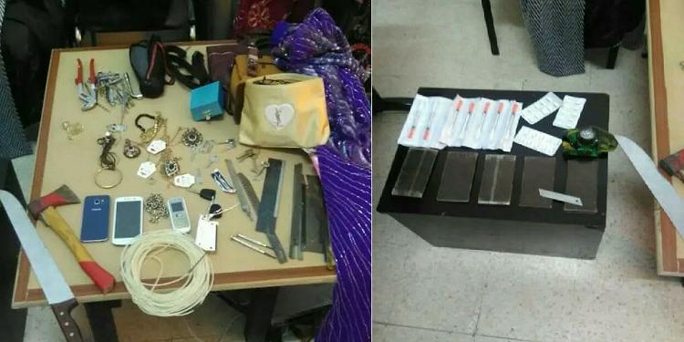 سيدي حسين: القبض على عصابة مختصة في سرقة المنازل
