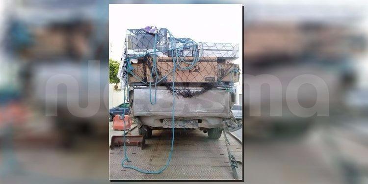 المهدية: الحرس الديواني يحجز سيارة تهريب دون أرقام منجميّة (صور)