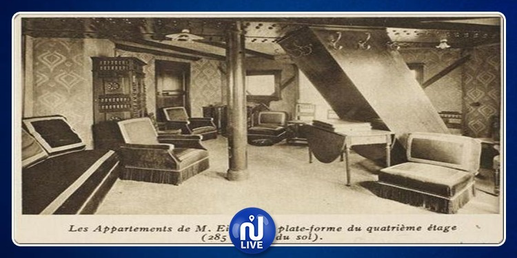 Un appartement au sommet de la Tour Eiffel…(Photo)