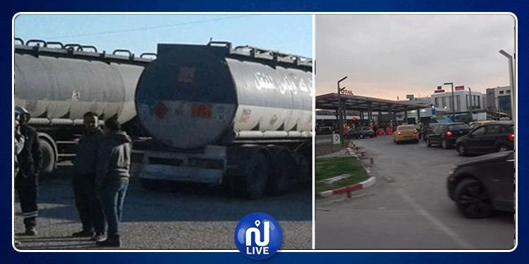بداية من اليوم.. 140 سفرة لتوزيع الوقود على محطات بيع البنزين