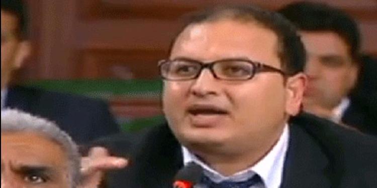 النائب أيمن العلوي يستنكر ما قام به وزير التنمية في القصرين