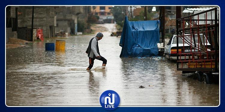 الطرقات المقطوعة جراء الأمطار