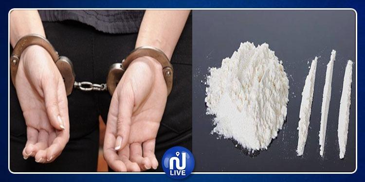 مطار تونس قرطاج: ضبط امرأة بحوزتها 256 غراما من مخدّر الكوكايين