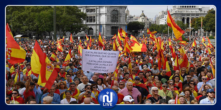 مدريد: مظاهرات عارمة للإطاحة برئيس الوزراء