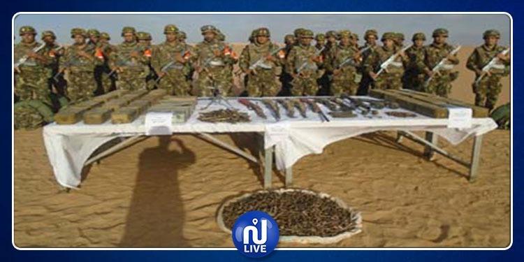 الجزائر: الكشف عن مخبأ يحتوي على كمية من الأسلحة والذخيرة