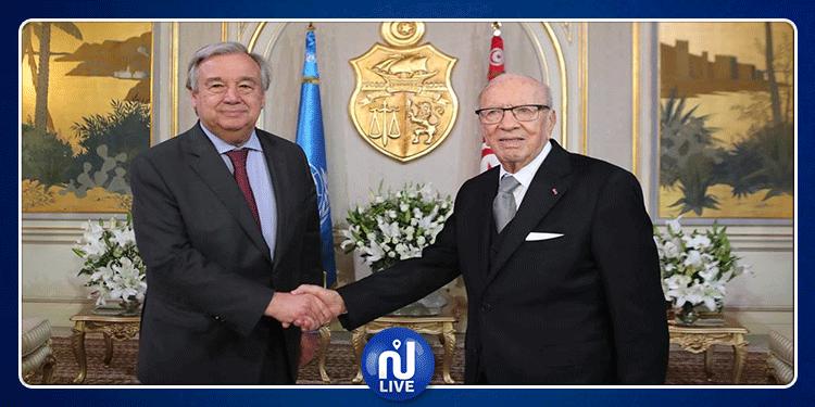 أمين عام الأمم المتحدة: يجب دعم تونس في ديمقراطيتها الناشئة