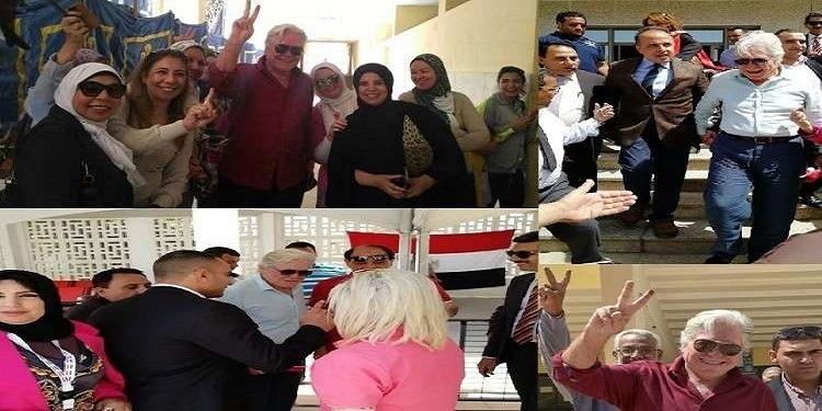 مصر: ماهي حقيقة تصويت الفنان حسين فهمي مرتين في الإنتخابات الرئاسية؟