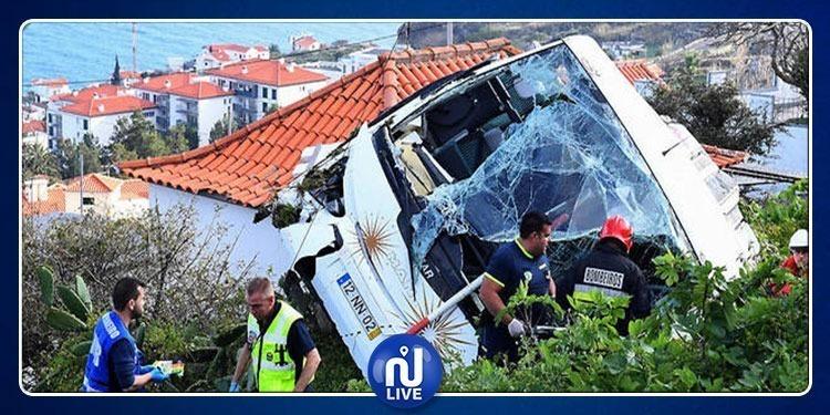 ارتفاع حصيلة انقلاب حافلة سياحية في البرتغال