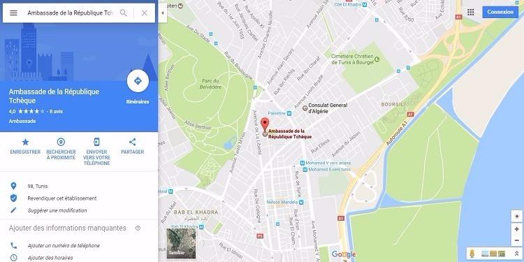 العاصمة: سفارة التشيك تغلق الطريق المجاور لها بحواجز إلكترونية وتقول للمتساكنين أنه ''ملكية خاصة''!