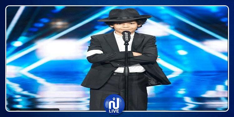 طفل تونسي يشعل مسرح Arabs Got Talent (فيديو)