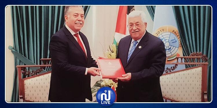 تسليم الرئيس الفلسطي دعوة للمشاركة في القمة العربية