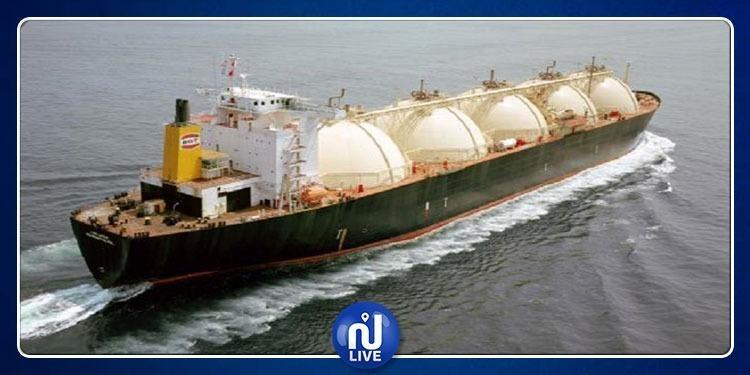 1 bateau chargé de 4000 tonnes de gaz liquide arrive en Tunisie