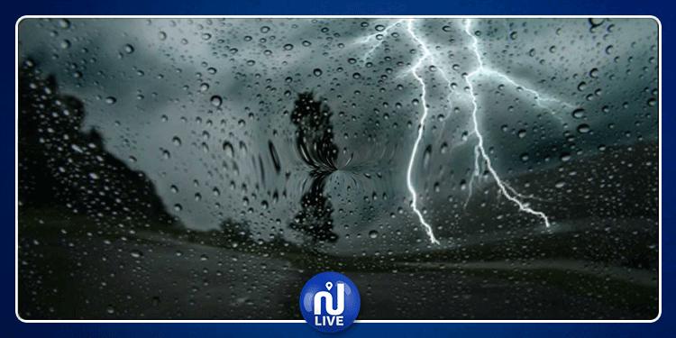 الرصد الجوي: أمطار رعدية وبرد وانخفاض ملحوظ في درجات الحراراة