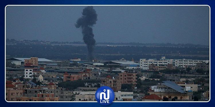 جيش الاحتلال يشن سلسلة غارات على غزة (فيديو)