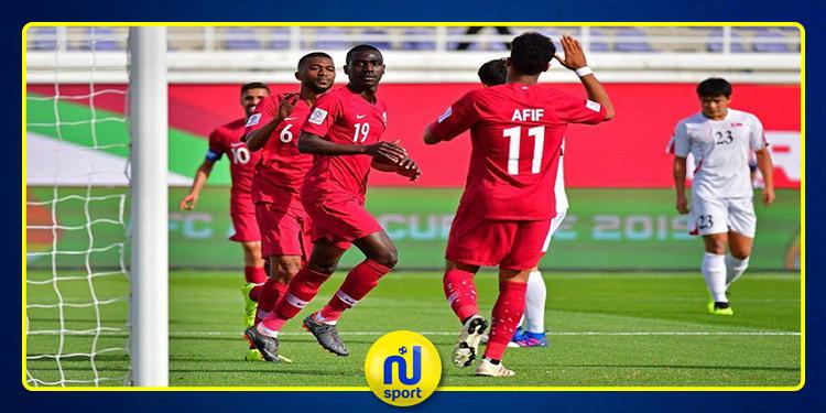 كأس آسيا :قطر تفوز على كوريا الشمالية بسداسية