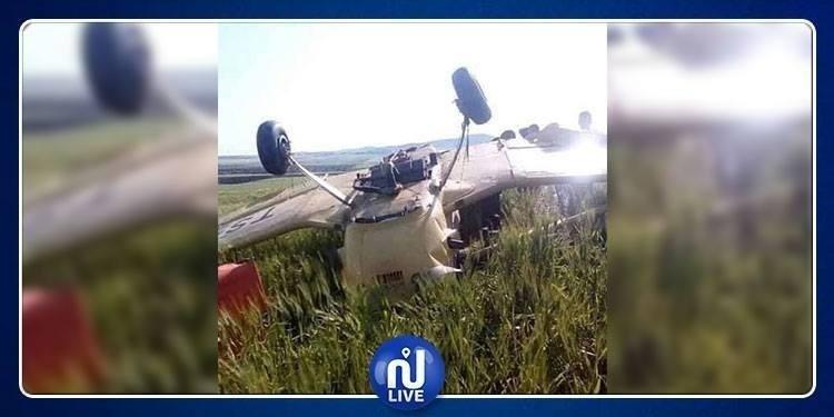 Chute d'un avion d'épandage à Sidi Bourouis, le pilote blessé