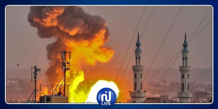 استشهاد 7 فلسطينيين في قصف إسرائيلي على غزة