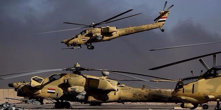 العراق: مقتل 50 عنصر من تنظيم ''داعش'' وتدمير دبابة للتنظيم