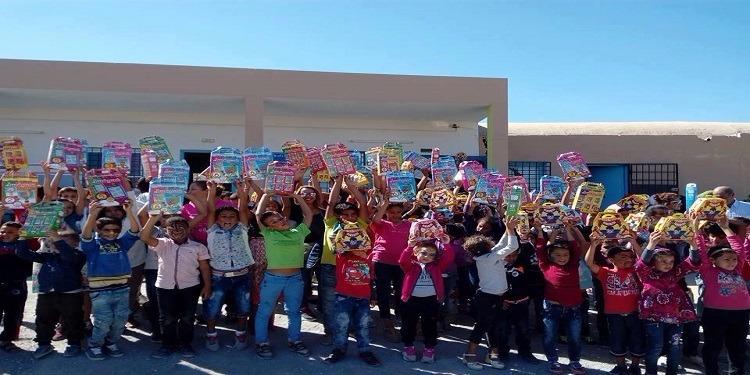 الحمامات: يوم تنشيطي بإحدى المدارس الابتدائية و تقديم هدايا للتلاميذ (صور)