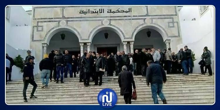 جندوبة: أعوان العدلية بالمحكمة الابتدائية يحتجون