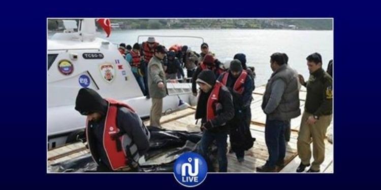 تركيا: ضبط 52 مهاجرا غير شرعي قبل التسلل لليونان