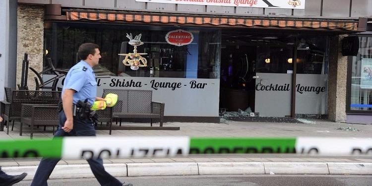 ألمانيا:القبض على شخصين يشتبه في تورطهما في تفجير مقهى