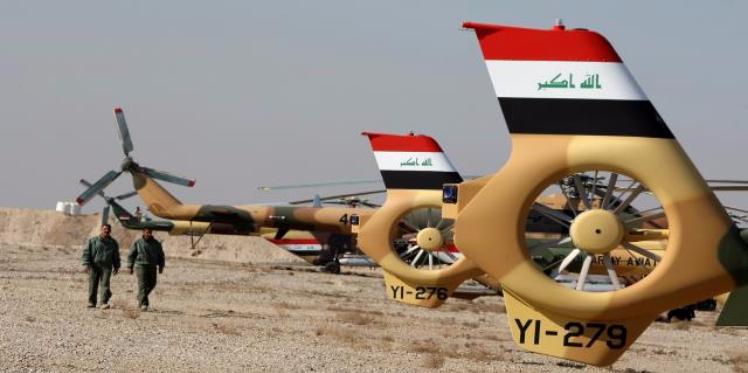 """سلاح الجو العراقي يقضي على """"وزير حرب داعش"""""""