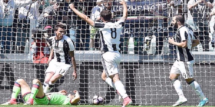 جوفنتوس بطل إيطاليا للمرة 6 على التوالي