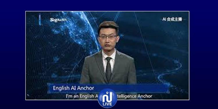 مذيع آلي يقدم نشرة أخبار (فيديو)