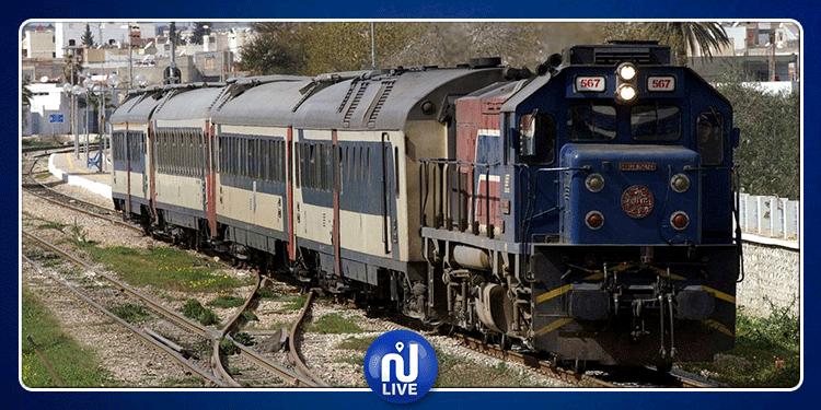 استئناف حركة سير القطارات إثر جنوح قطار بنزرت-تونس على السكة
