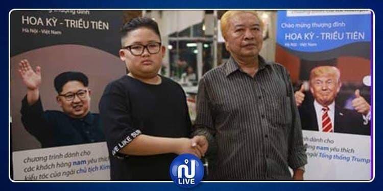 Les Vietnamiens coiffés à la Kim Jong-Un et Donald Trump