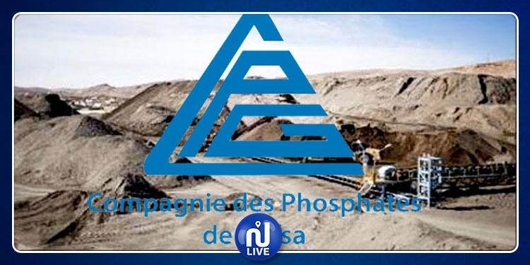 CPG: La production de phosphates, toujours à l'arrêt