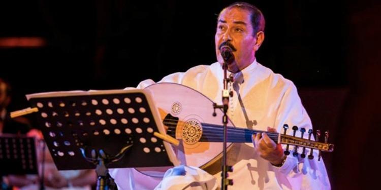 Lotfi Bouchnak à l'ouverture de la 32ème session du festival Saïd Aboubaker