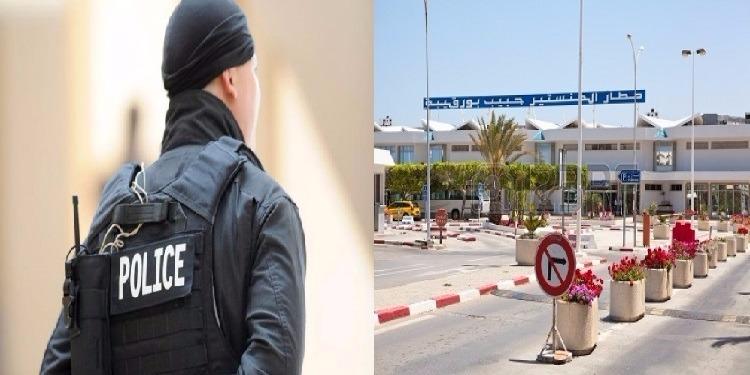 ملتحي يحاول افتكاك سلاح عون أمن بمطار المنستير الدولي.. التفاصيل