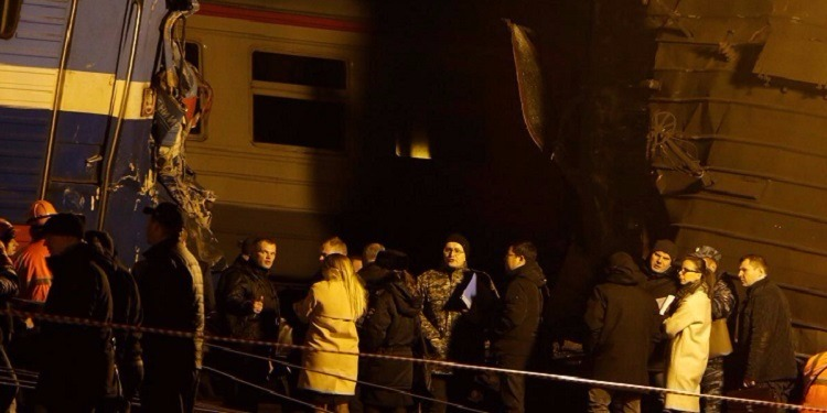 روسيا : 28 جريحا في اصطدام قطارين في موسكو