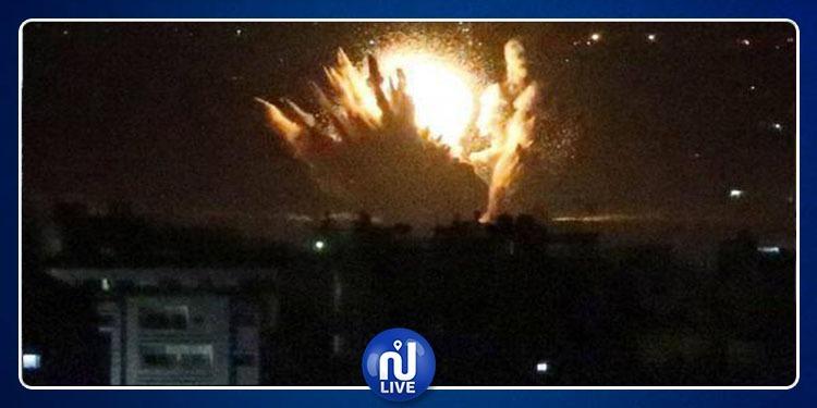التحالف العربي يقصف صنعاء..ويحذّر المواطنين