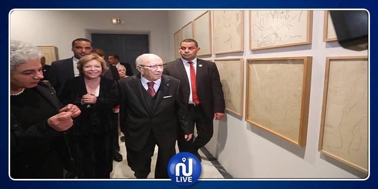 BCE inaugure l'exposition de l'artiste tunisien feu Abdelaziz Gorji