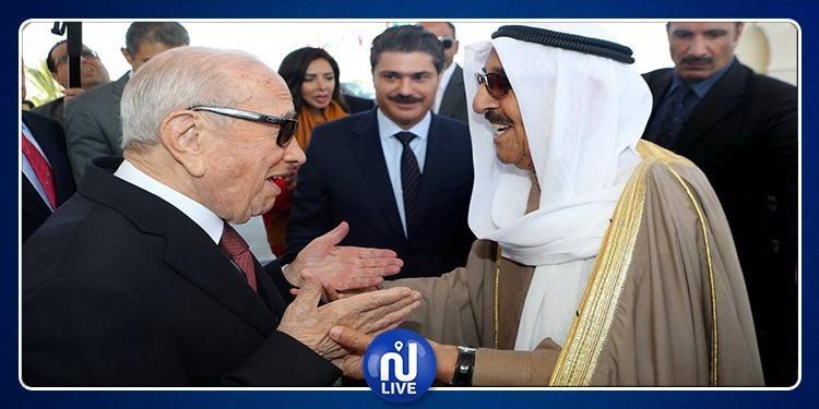 أمير الكويت:''تونس ستظل أرض التوافق والتضامن والتقاء الإرادات''