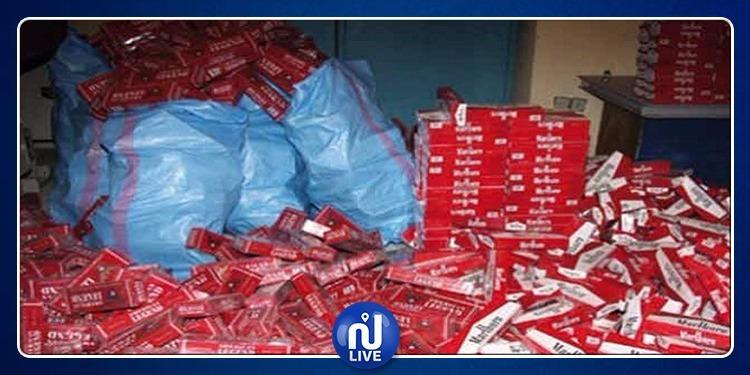 بن قردان: حجز سيارة محملة بكمية كبيرة من السجائر المُهربة من ليبيا