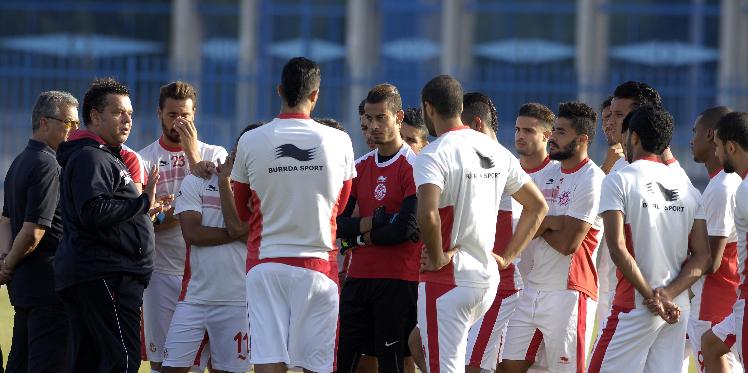 المنتخب التونسي الاولمبي يصل الى داكار