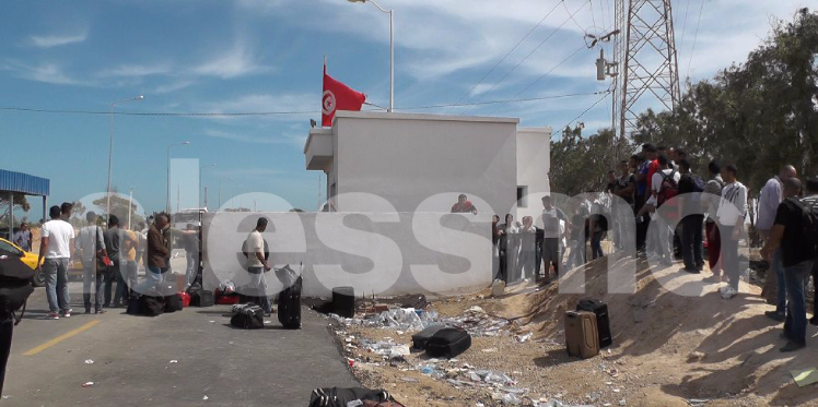 راس جدير: الغاز المسيل للدموع لتفرقة المحتجين