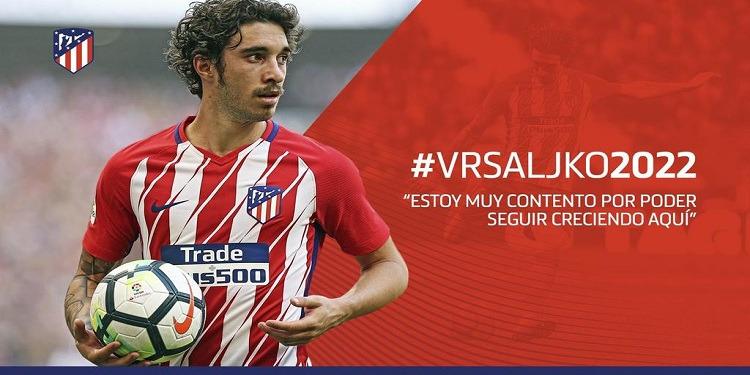 أتلتيكو مدريد: فيرساليكو يجدد عقده الى موفى جوان 2022