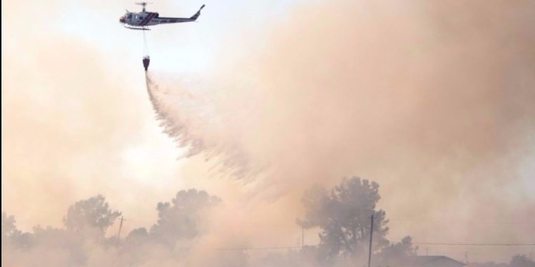 لوس أنجلوس: حريق يأتى على أكثر من ألفي هكتار من المساحات الخضراء وإخلاء مئات المنازل