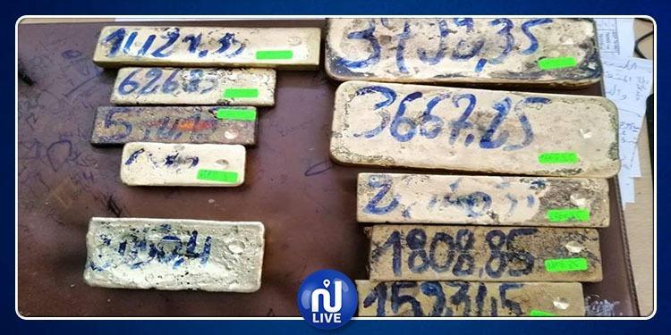 بنقردان: حجز 10 سبائك ذهب بقيمة تناهز 1.8 مليون دينار