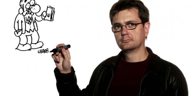 Twitter censure un dessin de Charb, de Charlie Hebdo