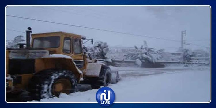 سليانة: لجنة مجابهة الكوارث تتخذ تدابير وقائية تحسبا لتساقط الثلوج