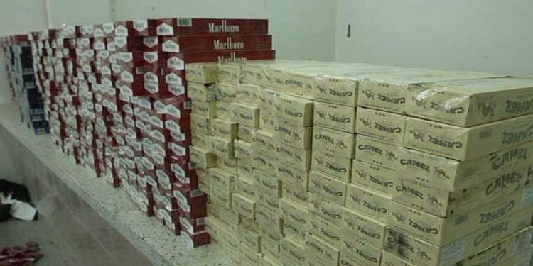 قابس: إحباط تهريب سجائر بقيمة تفوق 220 ألف دينار