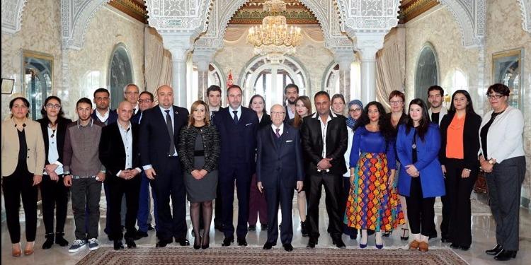 رئيس الجمهورية يلتقي ثُلّةً من الشباب التونسي